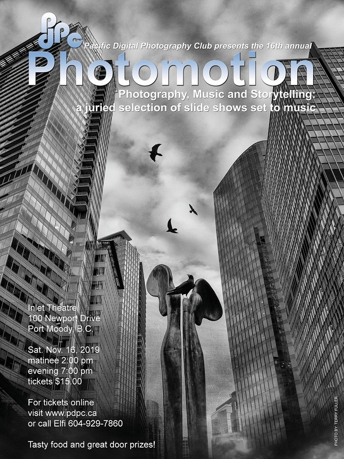 Photomotion 2019 poster